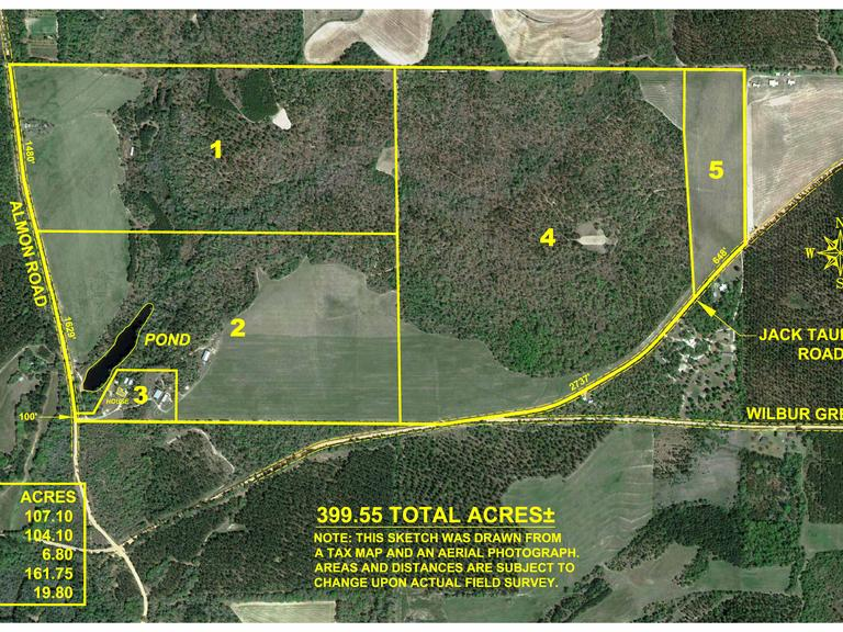 399+/- Acre Hay Farm and Home Located in Taylor County, Georgia