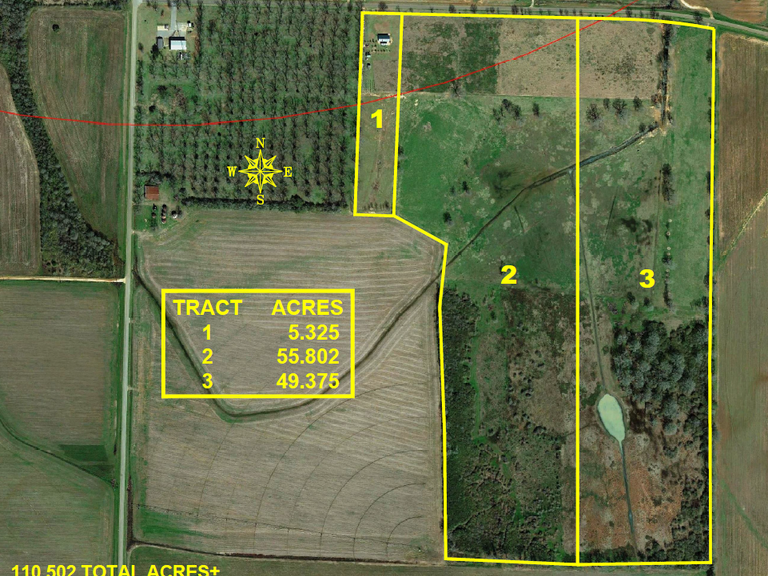 Now Selling Absolute! 110.50 +/- Acre Cattle Farm and Home Located in Shellman, Georgia