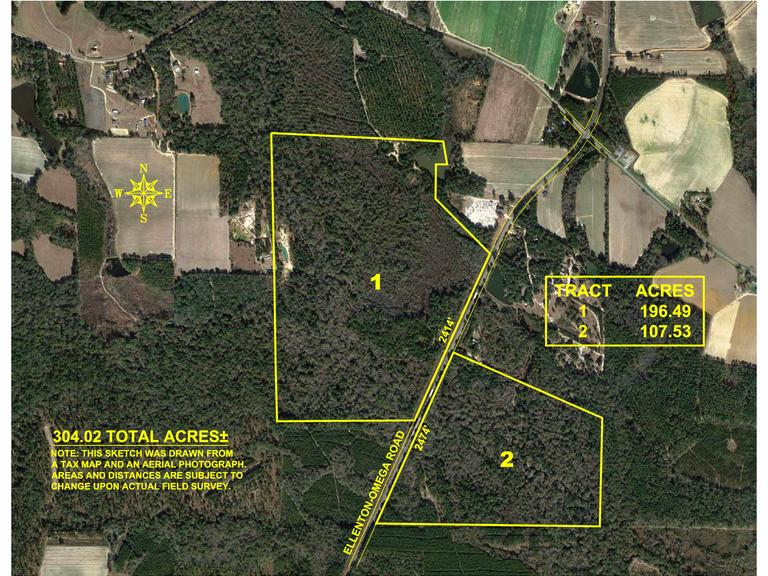 Selling Absolute - Tract 1 - 196.49 Acres