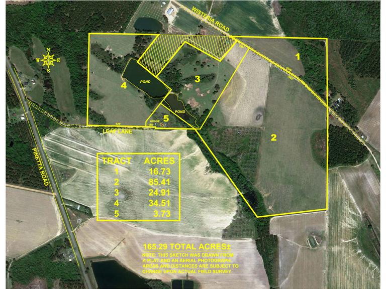 Tract 3 - 24.91 Acres and Pond